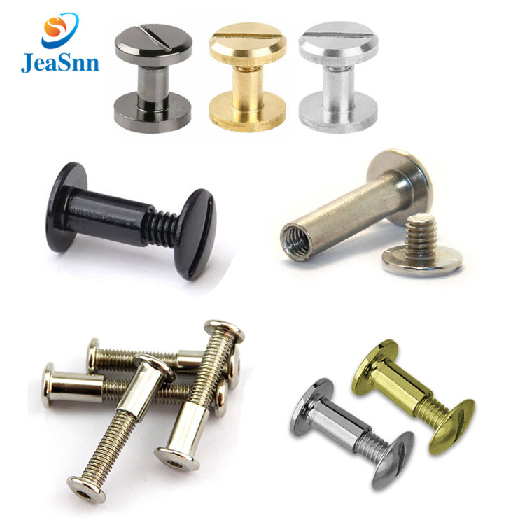 Chicago screw rivets screw and post binding aluminum black chicago screws for sale