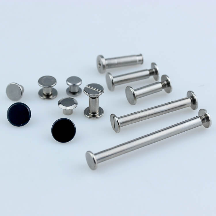 Customized Stainless Steel Chicago Screws,Book Binding Screws for sale