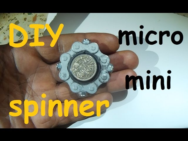 Easy Diy Micro Fidget Hand Spinner Self Defense Ring